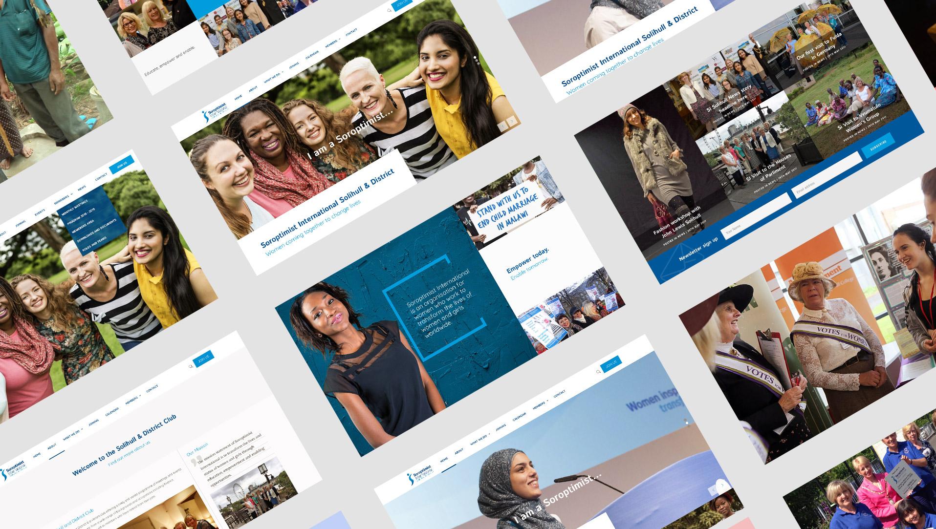 purnells website design